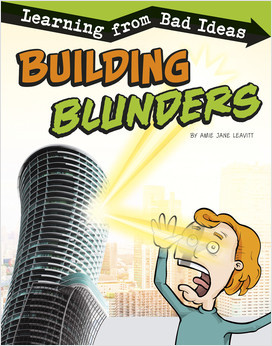Cover: Building Blunders: Learning from Bad Ideas