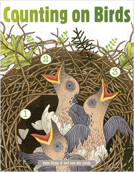 Cover: Counting on Birds (Board Book)