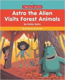 Cover: Beginning-to-Read: Astro the Alien
