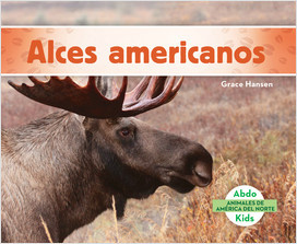 Cover: Animales de América del Norte (Animals of North America) (Spanish Version)