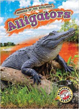 Cover: Animals of the Wetlands
