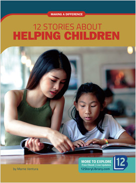 Cover: Making a Difference: 12 Stories about Helping Children