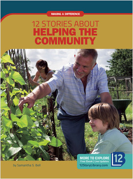 Cover: Making a Difference: 12 Stories about Helping the Community