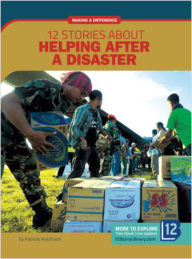 Cover: Making a Difference: 12 Stories about Helping after a Disaster