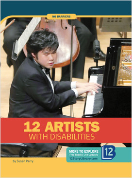 Cover: No Barriers: 12 Artists with Disabilities