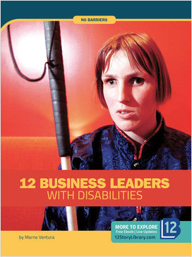 Cover: No Barriers: 12 Business Leaders with Disabilities