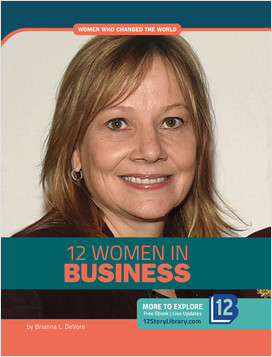Cover: Women Who Changed the World: 12 Women in Business