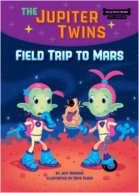 Cover: Funny Bone Books ™ First Chapters -- The Jupiter Twins