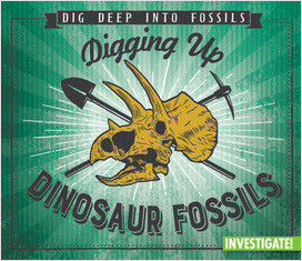 Cover: Dig Deep into Fossils