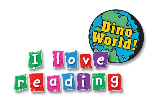Cover: I Love Reading: Dino World
