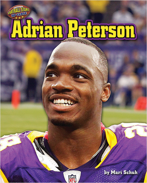 Cover: Adrian Peterson