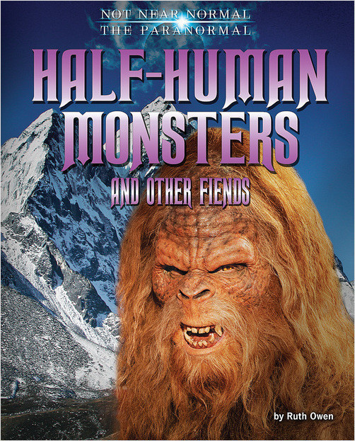 Cover: Half-Human Monsters and Other Fiends