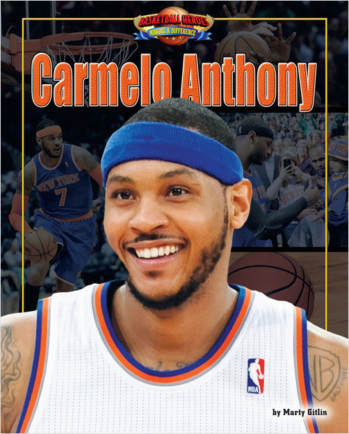 Cover: Carmelo Anthony