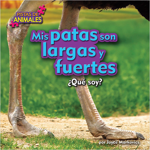 Cover: Mis patas son largas y fuertes (My Legs Are Long and Strong)