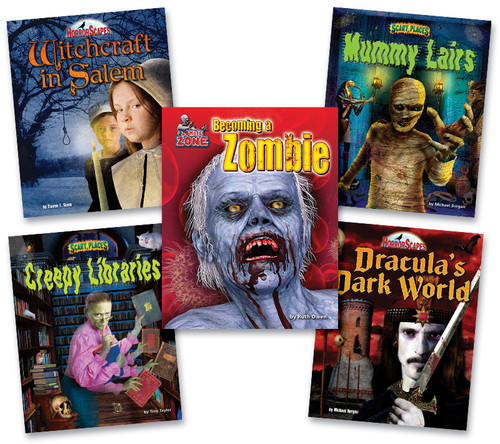 Cover: Spooky Stories for Grades 3-8
