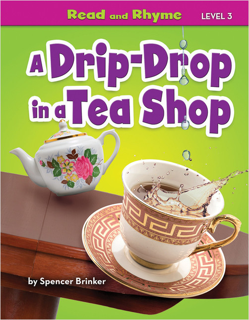 Cover: A Drip-Drop in a Tea Shop