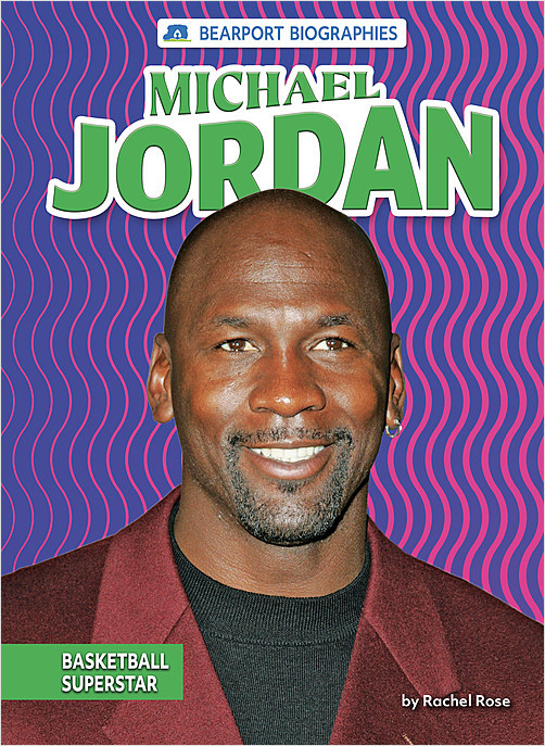 Cover: Michael Jordan: Basketball Superstar