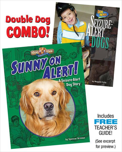 Cover: Sunny on Alert!/Seizure Alert Dogs