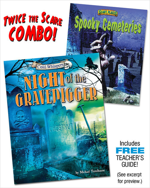Cover: Night of the Gravedigger/Spooky Cemeteries (paired combo)