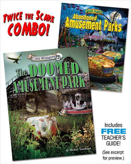 Cover: The Doomed Amusement Park/Abandoned Amusement Parks (paired combo)