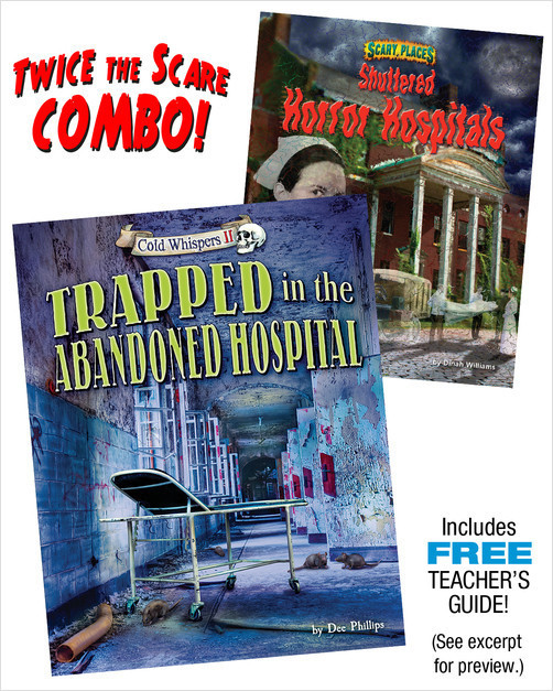 Cover: Trapped in the Abandoned Hospital/Shuttered Horror Hospitals Combo