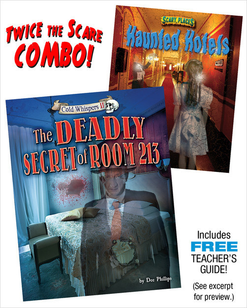 Cover: The Deadly Secret of Room 113/Haunted Hotels Combo
