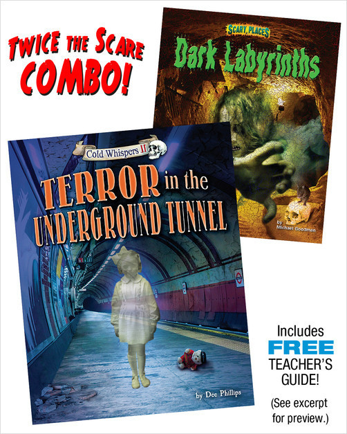 Cover: Terror in the Underground Tunnel/Dark Labrinyths Combo