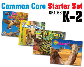 Cover: Common Core K-2 Starter Set