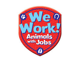 Cover: We Work! Animals with Jobs