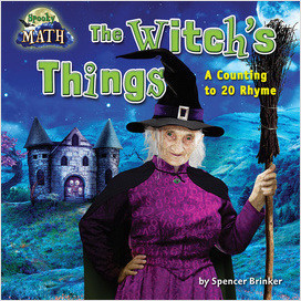 Cover: The Witch's Things: A Counting to 20 Rhyme