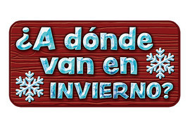 Cover: ¿A dónde van en invierno? (In Winter, Where Do They Go?)