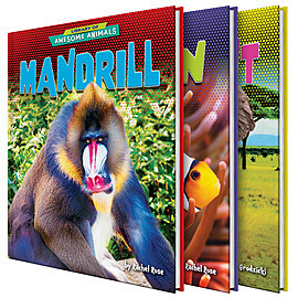Cover: Library of Awesome Animals Complete Set