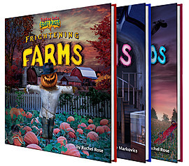 Cover: Tiptoe Into Scary Places Complete Set