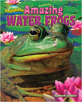 Cover: Amazing Water Frogs