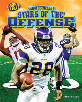 Cover: Pro Football's Stars of the Offense