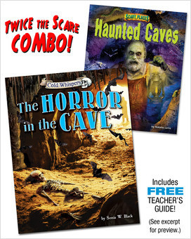 Cover: The Horror in the Cave/Haunted Caves (paired combo)