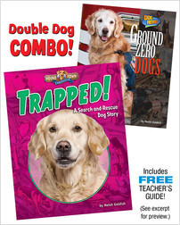 Cover: Trapped!/Ground Zero Dogs