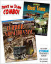 Cover: Terror at the Ghost Town Mine/Ghost Towns (paired combo)