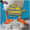 Cover: My Feet Are Webbed and Orange (Puffin)