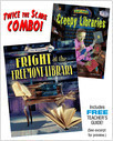 Cover: Fright at the Freemont Library/Creepy Libraries Combo
