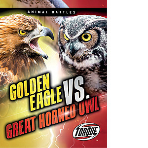 Cover: Golden Eagle vs. Great Horned Owl