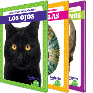 Cover: Las partes de los animales (Animal Part Smarts)