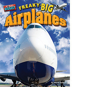 Cover: Freaky-big Airplanes