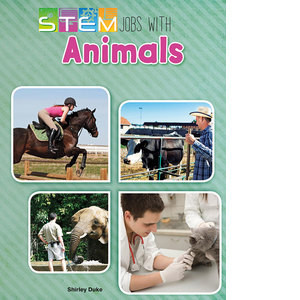 Cover: STEM Jobs with Animals
