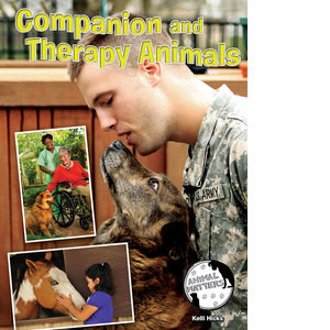 Cover: Companion and Therapy Animals
