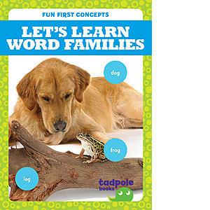 Cover: Let's Learn Word Families