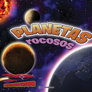 Cover: Planetas rocosos: Mercurio, Venus, la Tierra y Marte