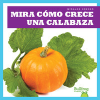 Cover: Mira cómo crece una calabaza (Watch a Pumpkin Grow)