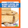 Cover: Who Lives in the Desert?