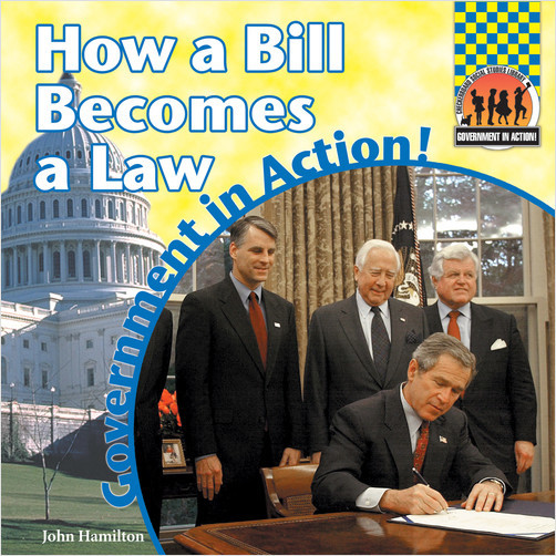 Cover: How A Bill Becomes A Law